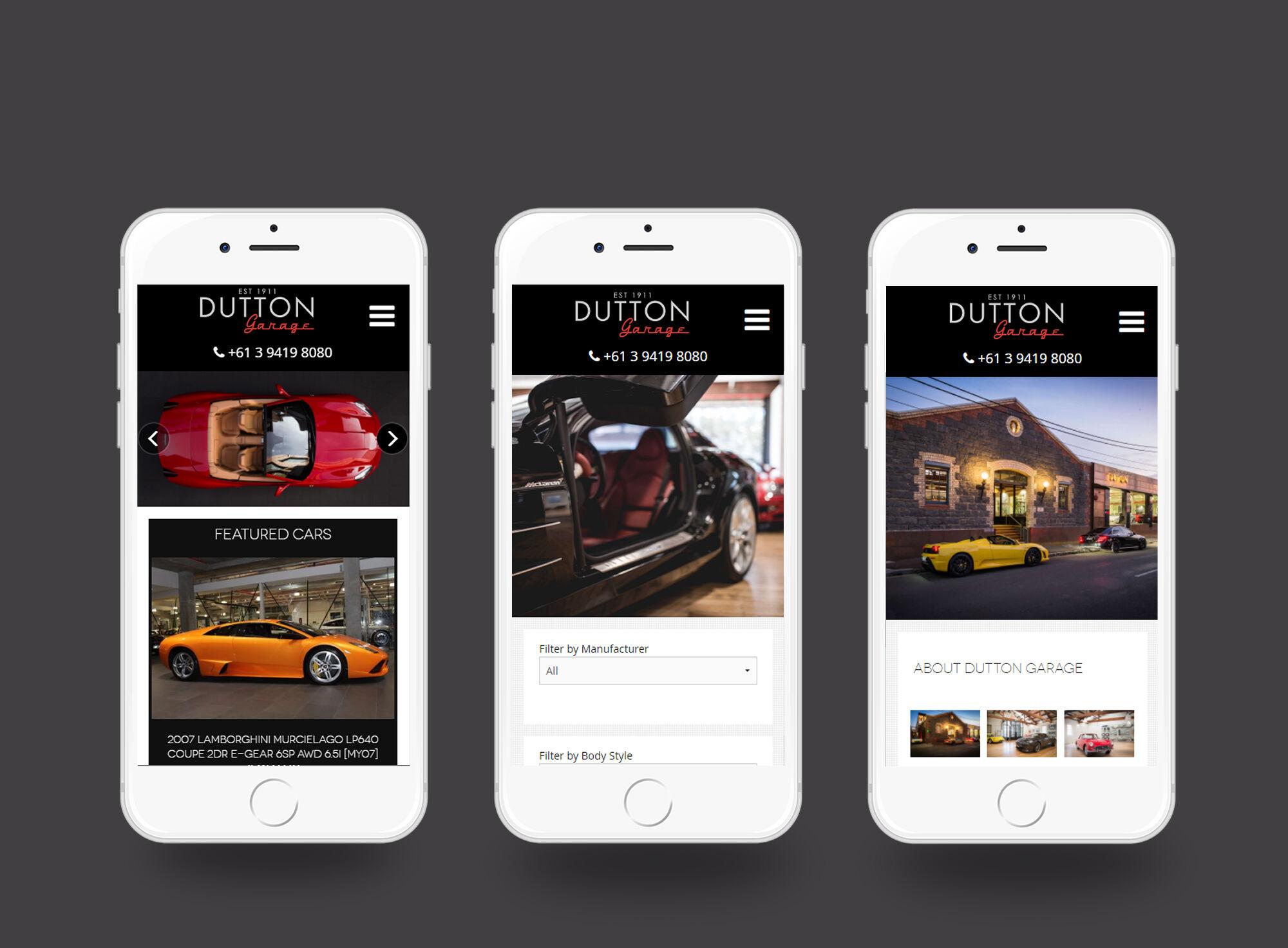 Dutton Garage Mobile