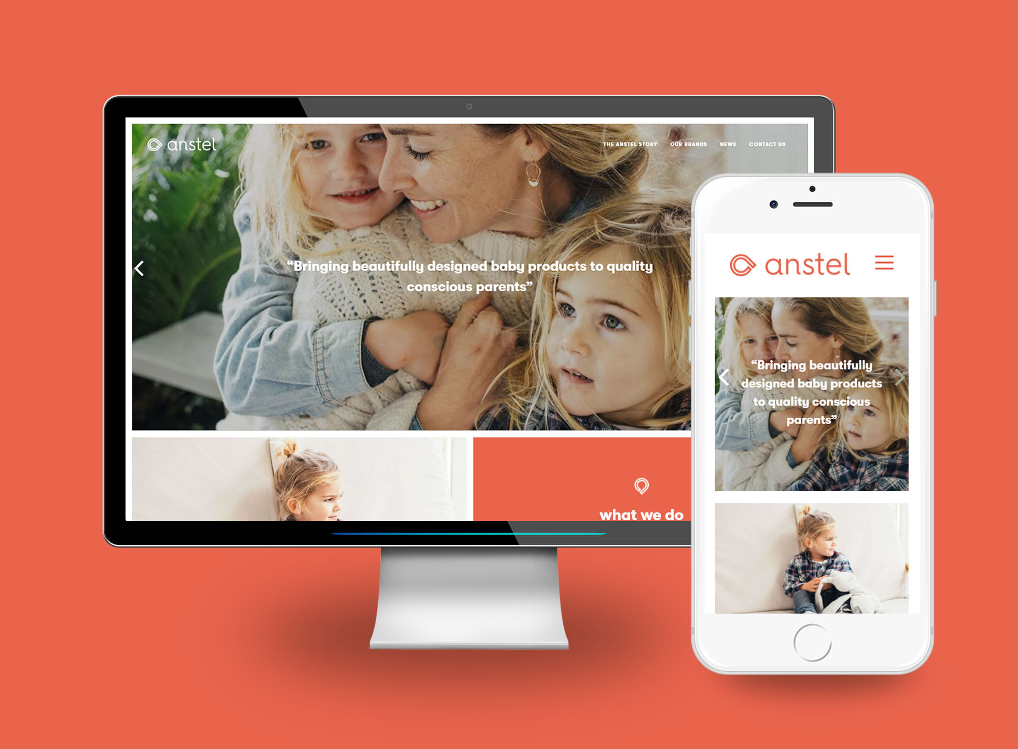 Anstel Desktop & Mobile
