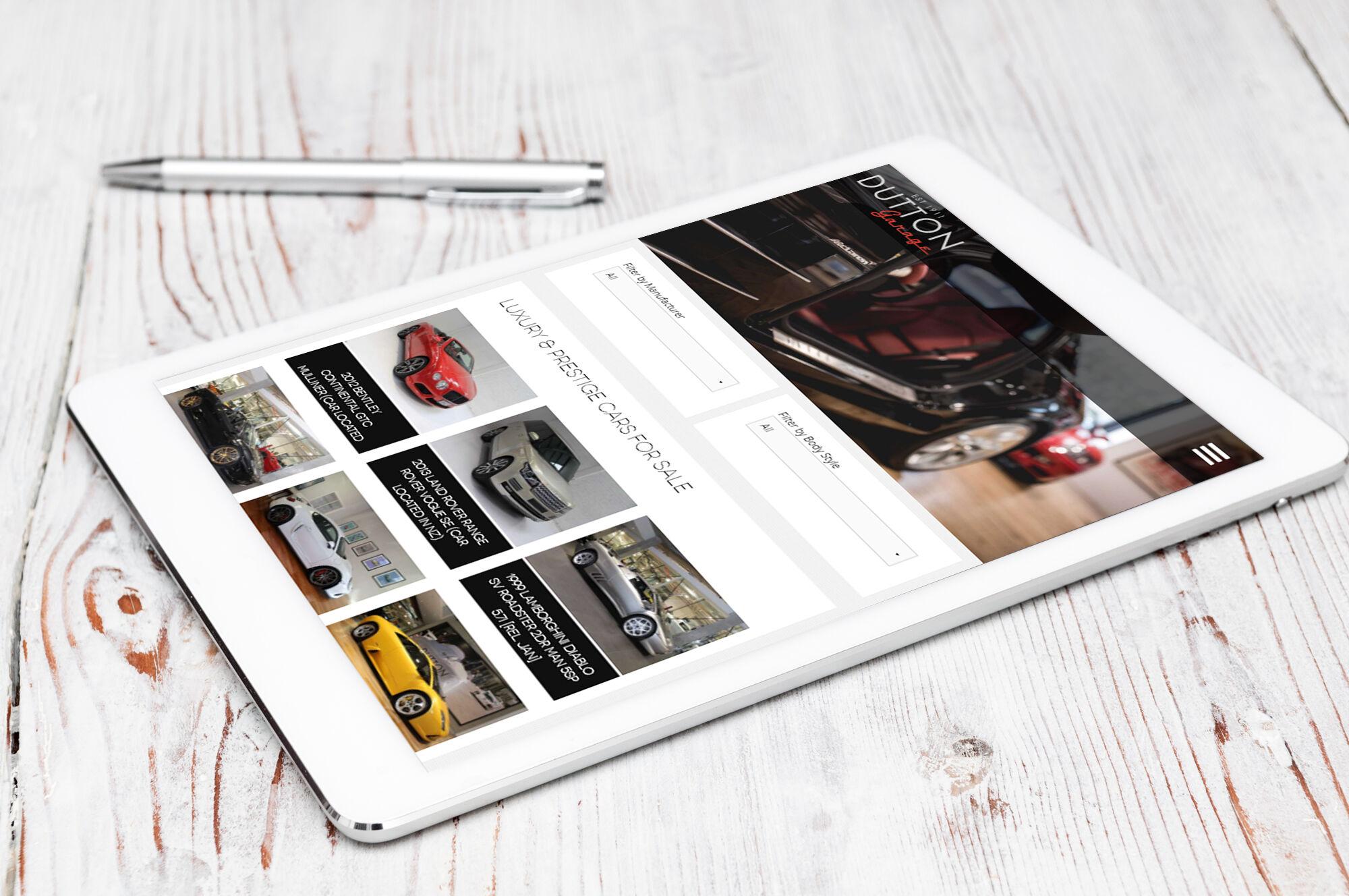 Dutton Garage iPad3