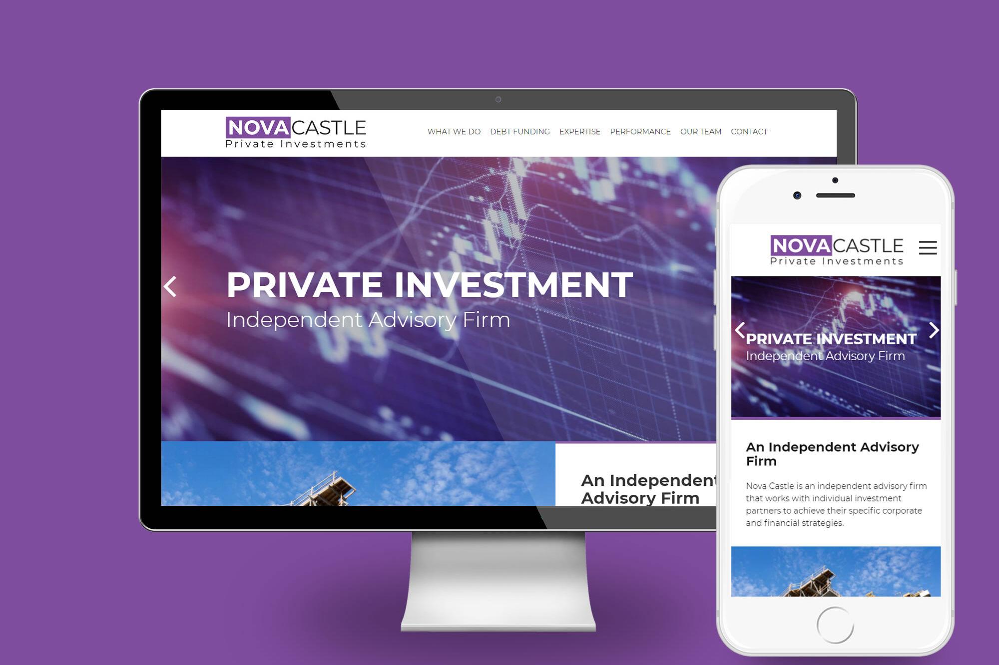 Nova Castle Desktop view new