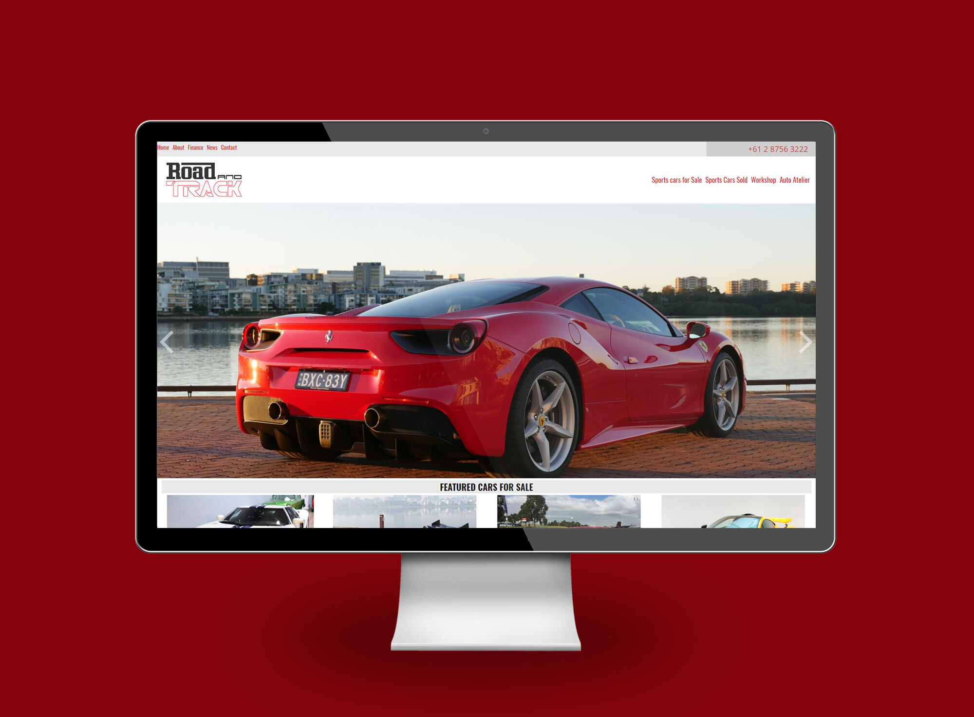 Road and Track desktop