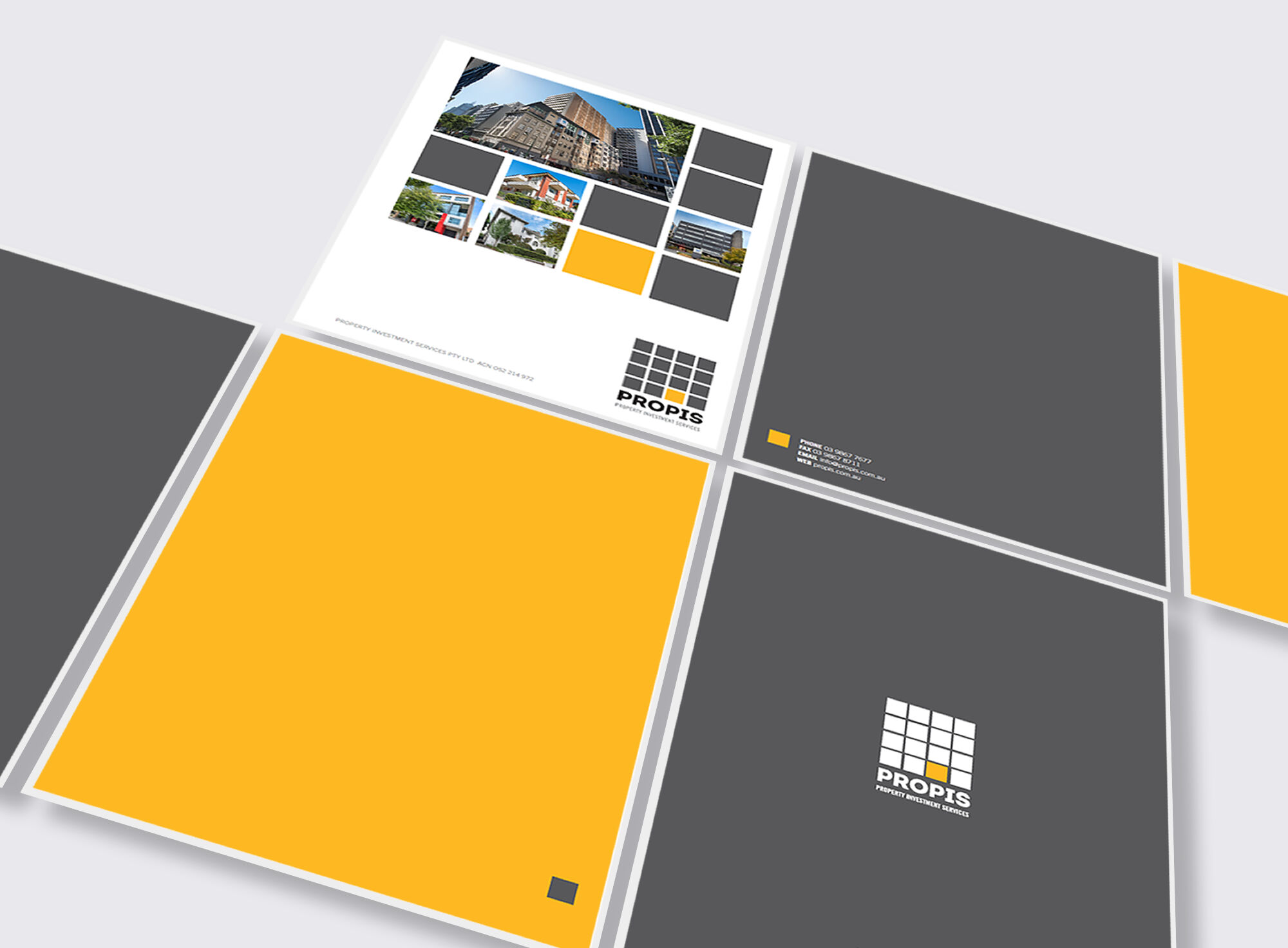 PROPIS presentation folders