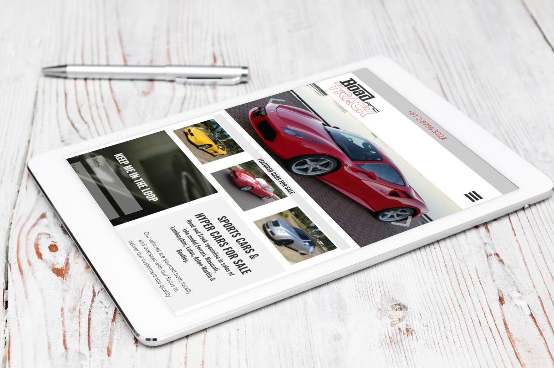 Road & Track iPad3