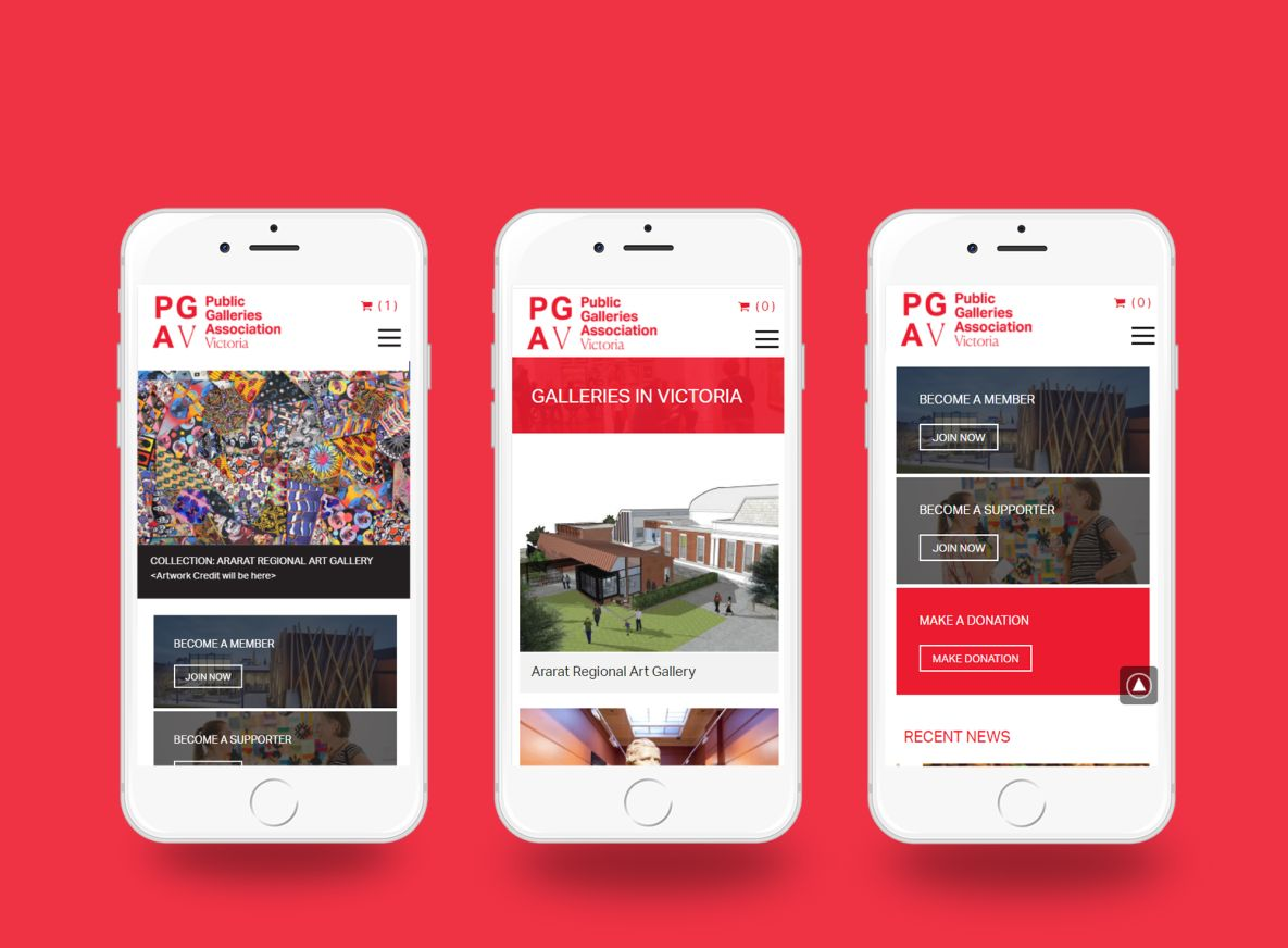 PGAV Mobile view