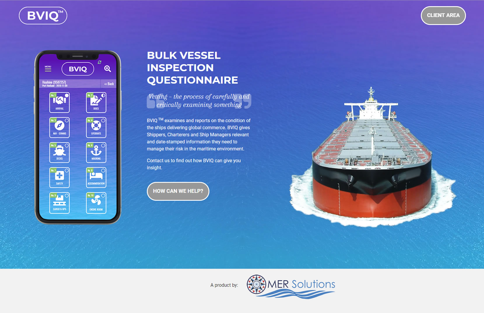 BVIQ Bulk Vessel Inspection Questionnaire