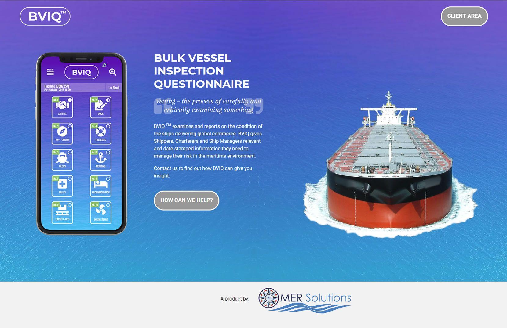 BVIQ Bulk Vessel Inspection Questionnaire