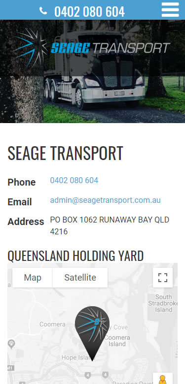 Seage Transport mobile2