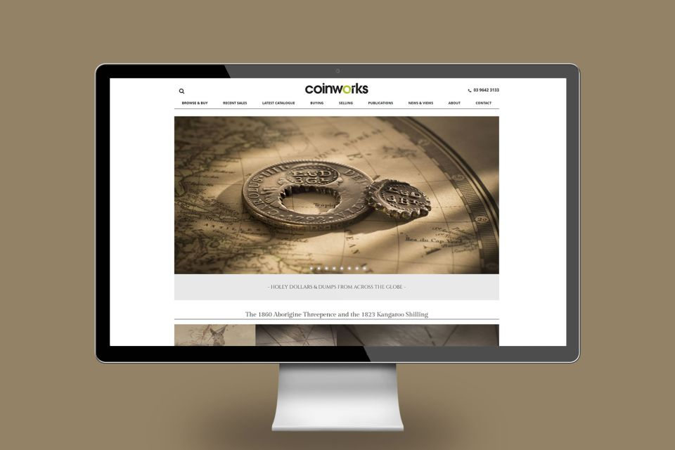 Coinworks Rare coins and banknote dealers