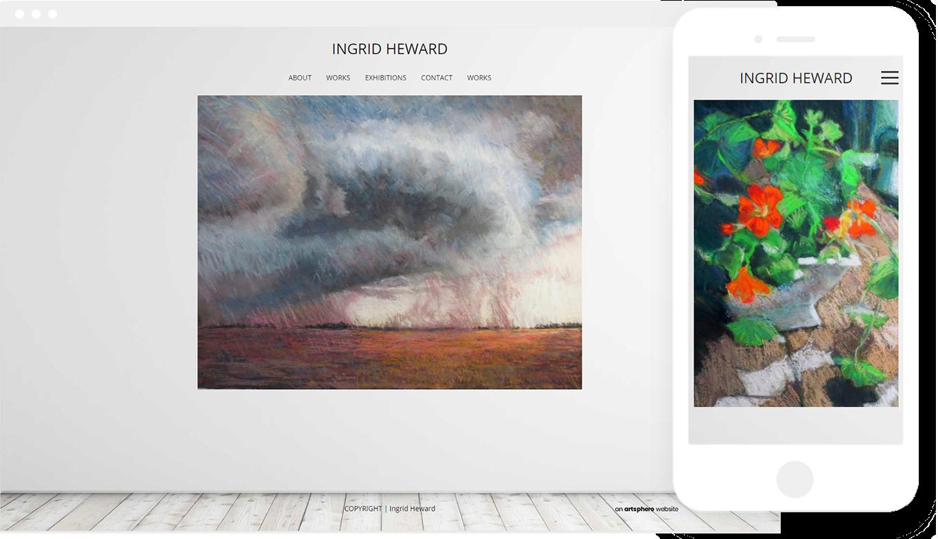 Ingrid Heward artist